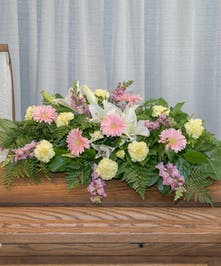 Blooming Harmony Casket Spray