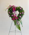 Hearts Tribute Open Heart Wreath