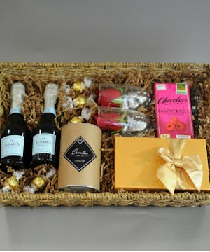 Bubbles and Bliss Gift Basket