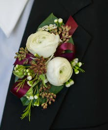 Enchanted at Dusk Boutonniere