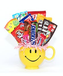 Be Happy Candy Mug