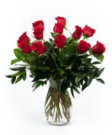 Classic Premium Dozen Roses - Eastern Floral - Grand Rapids, Holland, Grand Haven, Spring Lake, MI Flower Delivery