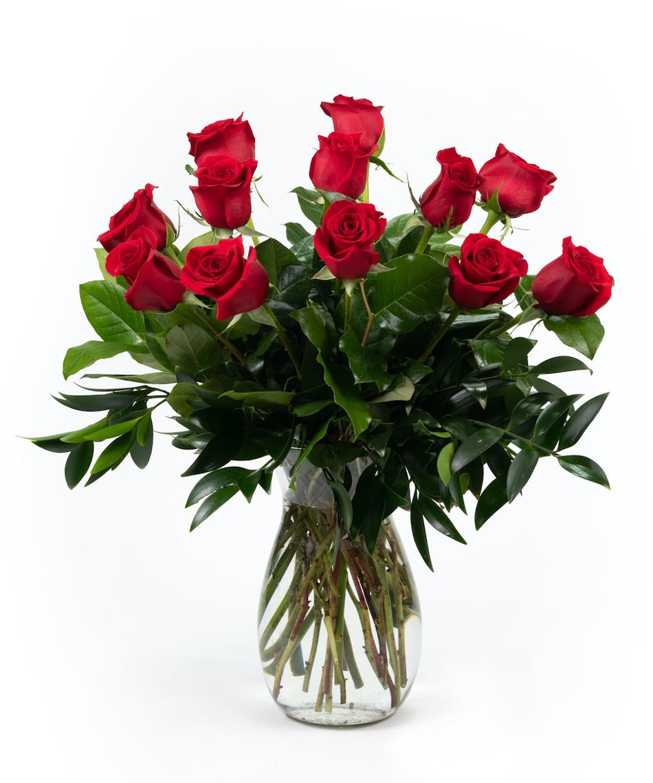 One Dozen Roses Rose Delivery In Grand Rapids Holland Grand