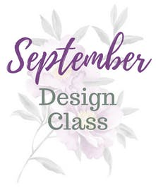 September Design Class