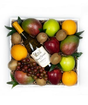 Wine & Fruit Crate